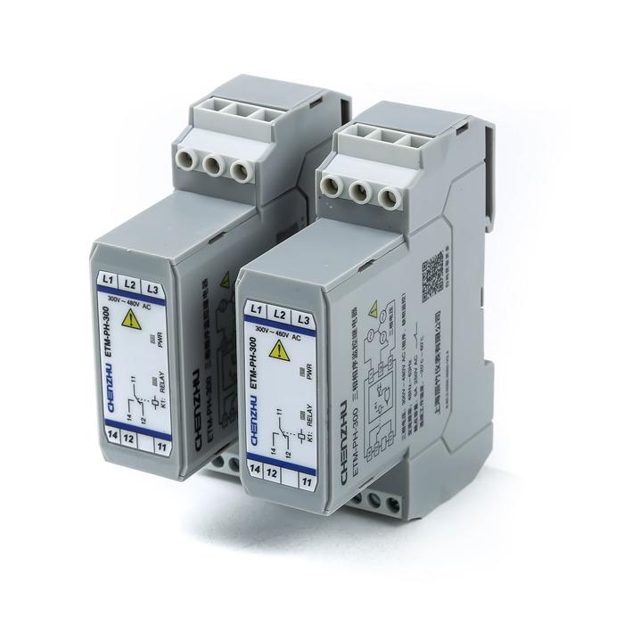 三相电压相序电量监控继电器