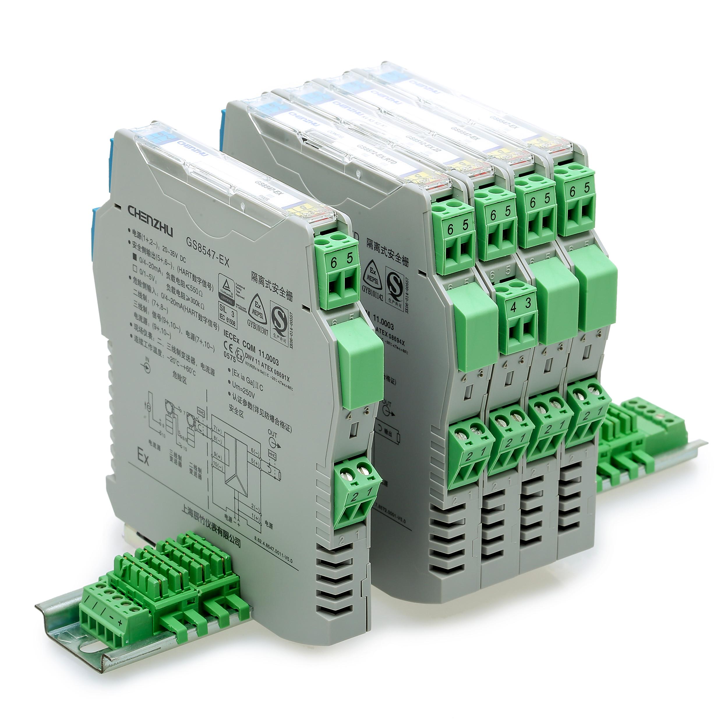 二进二出 开关量输入,继电器输出隔离式安全栅
