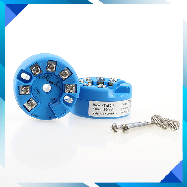 RTD input, HART,Intrinsically safe Isolated temperature transmitter