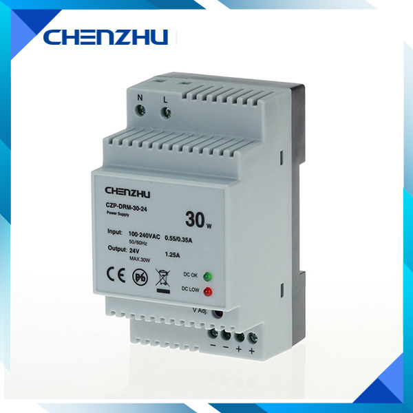 DIN Rail Tpye Power Supply 30W/12V Output